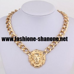 Bling Bling - Collier tête de lion