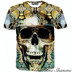 Skull with sunglasses T-shirt