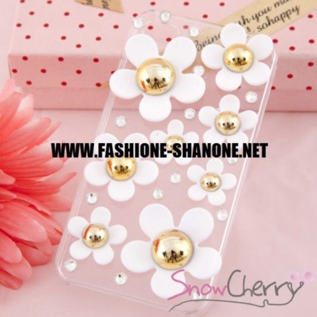 Coque IPHONE 5/5S marguerite