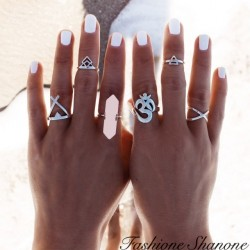 Fashione Shanone - Set of 6 gypsy rings