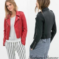 Fashione Shanone - Waisted leather perfecto