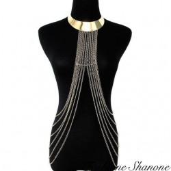 Fashione Shanone - Gold harness with pendant chains