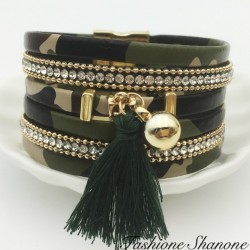 Fashione Shanone - Military multilayer bracelet