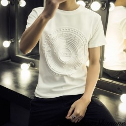 Fashione Shanone - White embossed T-shirt