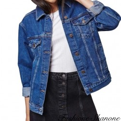 Fashione Shanone - Basic denim jacket