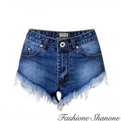 Fashione Shanone - Mini short en jean