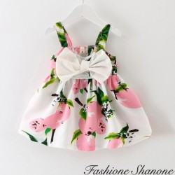 Fashione Shanone - Floral dress with bow