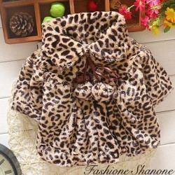 Fashione Shanone - Leopard fur coat