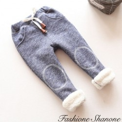 Fashione Shanone - Fur lining jogging pants