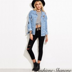 Destroy denim jacket