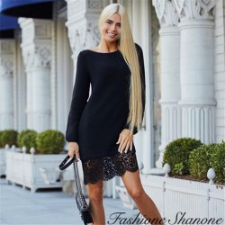 Fashione Shanone - Dress with lace