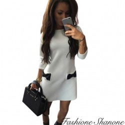 Fashione Shanone - Right dress with bow knot