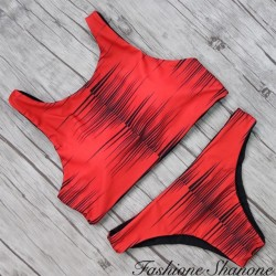 Fashione Shanone - Red Brazilian bikini