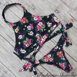 Fashione Shanone - Flowery swimsuit