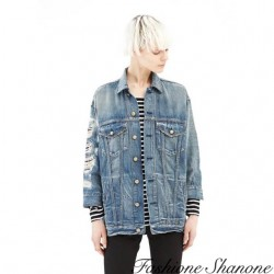 Fashione Shanone - Destroy denim jacket