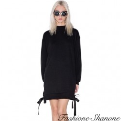 Fashione Shanone - Robe sweat lacet