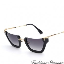 Fashione Shanone - Semi-rimless sunglasses