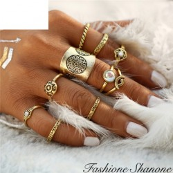 Parisian in Miami - 9 rings set