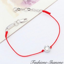 Fashione Shanone - Red bracelet with diamond