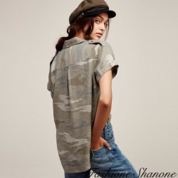 Fashione Shanone - Military shirt
