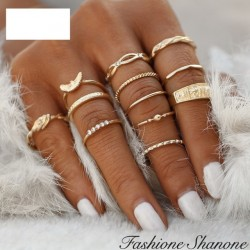 Fashione Shanone - Golden ring set
