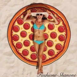 Fashione Shanone - Pizza round beach blanket
