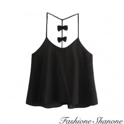 Fashione Shanone - Top with bow on the back