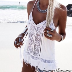 Fashione Shanone - Top with lace