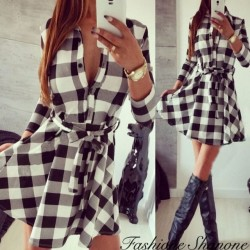 Fashione Shanone - Robe plaid
