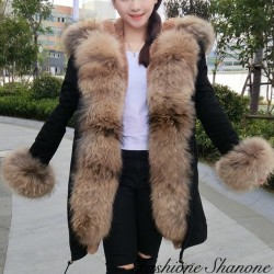 Fashione Shanone - Down coat with fur