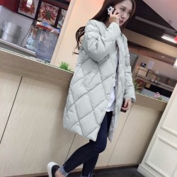 Fashione Shanone - Long quilted down coat