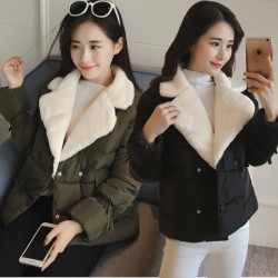 Fashione Shanone - Down coat with fur collar