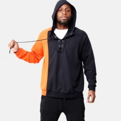 Fashione Shanone - Sweat noir et orange