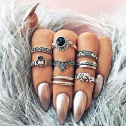 Fashione Shanone - Bohemian ring set