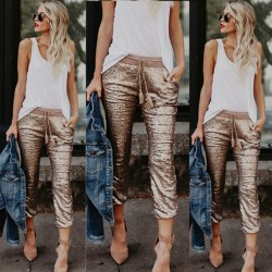 Fashione Shanone - Sequined pants