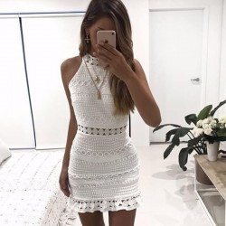 Fashione Shanone - Lace white dress