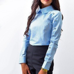 Fashione Shanone - Shirt with buttoned sleeves