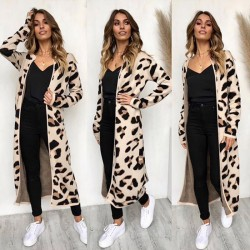 Fashione Shanone - Leopard long cardigan