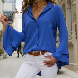 Fashione Shanone - Shirt with flared sleeves