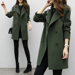 Fashione Shanone - Coat with double breasted
