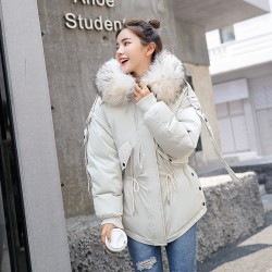Fashione Shanone - Down coat with fur hood