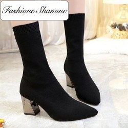 Fashione Shanone - Bottines chaussettes