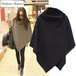 Fashione Shanone - Turtleneck cape