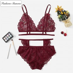 Fashione Shanone - High waist panty and bra set