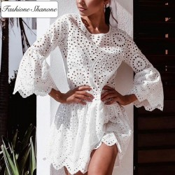 Fashione Shanone - Flared lace dress