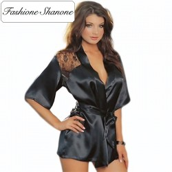 Fashione Shanone - Lace and satin night gown