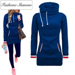 Fashione Shanone - Long sweat à capuche