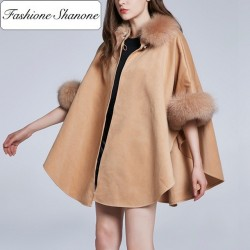 Fashione Shanone - Cape with fur