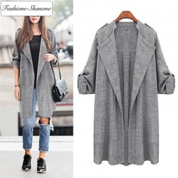Fashione Shanone - Long loose jacket