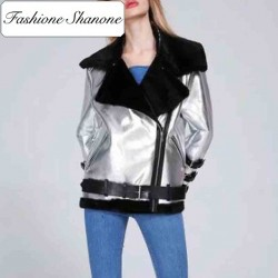 Fashione Shanone - Perfecto aviator coat